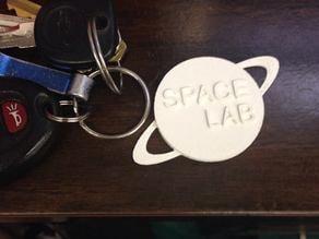 SpaceLab Keychain