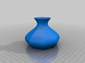8 Sided Vase