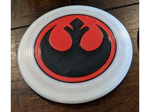Multicolor Star Wars Disc Golf Marker Disc (Rebel Alliance logo)
