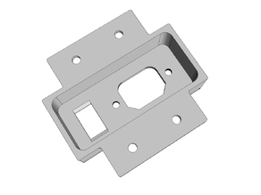 PSU Inlet and Switch for Kossel 25000 Vertices
