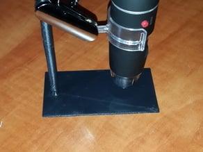 USB microscope mount