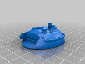GSC Cultist Main Battle Tank Turret(s)