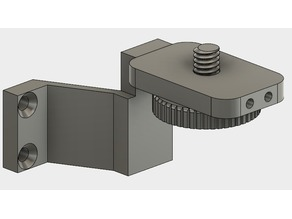 Logitech C615 Webcam (1/4 UNC Cam) Wallmount for Enclosures