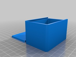 My Customized Parametric Box with Sliding Lid
