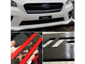 License Plate Delete for 2015+ Subaru WRX/STi
