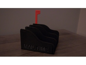 Mail Time - Mail Holder