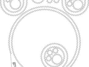 Eye-balled planetary gears