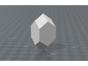 Tetragonal crystal Zircon