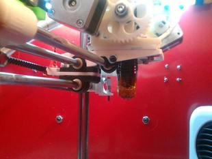 Printrbot Dual Extruder Carriage and Mount