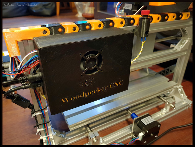 Woodpecker GRBL CNC machine PCB board enclosure/box by