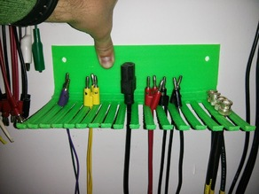 Customizable Cable Rack