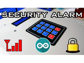 Arduino Based Security Alarm