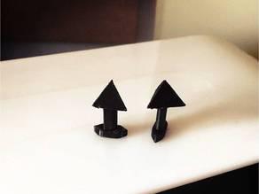 Triangular Cuff-links