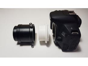 "Canon EF-S to 2"" Telescope Adapter"