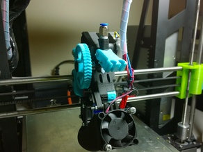 Infill3d 75 Geared Extruder Modification for PTFE 4mm-2mm