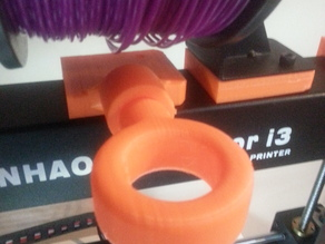 Wanhao Duplicator i3 - Guide Ring (Turnable Knob) [Remix from Drazen]