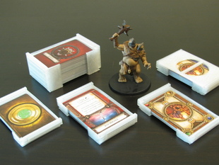 Customizable Board Game Card Storage