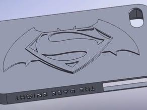 Batman - Superman Iphone 4 case