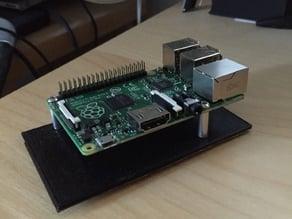 Raspberry pi B+ tray for Raspberry pi rack