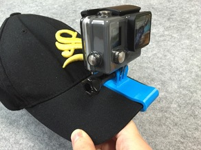 The connector of GoPro with a cap