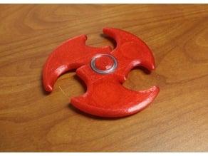 Nickel Shuriken Fidget Spinner