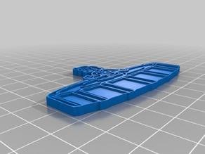 Aqua Girl Perk Pin