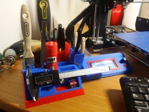Slimline 3d Printer tool holder
