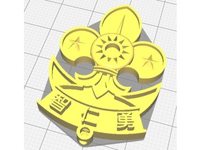 China Scout  badge for senior