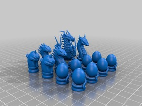 Dragon Chess Set By MartialDesign