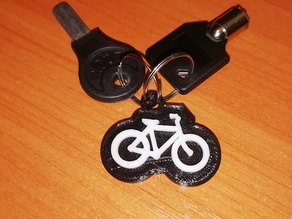 Bike Keyring/Keychain (Remix)