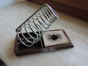 Soldering iron holder