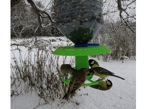 XXL Robust Bottle Bird Feeder with Filling Funnel