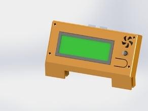 Prusa i3 Smart LCD Frame mount