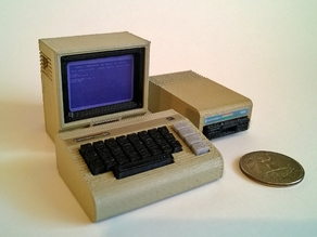 Mini Commodore C64 with 1541 disk drive (and now 1702 Monitor)