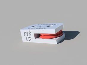 Filament Guide 608 Bearing v2 easy print