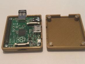 RaspberryPi A+ Case with magnets