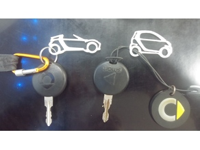 smart car keychain