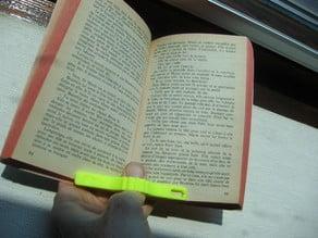 Pouce de lecture