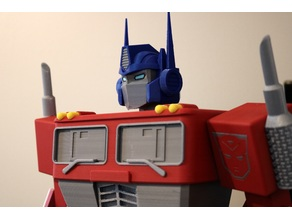 Big Optimus Prime! - Multi Material Model