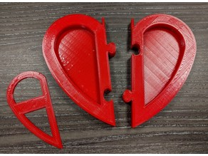 Jigsaw Heart Picture Frame