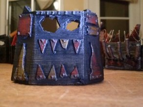Space Goblin Scrapyard Barricade - Small 4