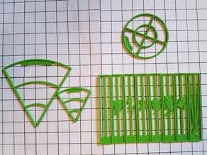 D&D spell templates