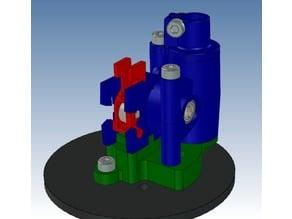 Nimble V1 Analog Kossel XL mount