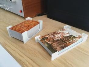 Parametric card deck holder & dispenser