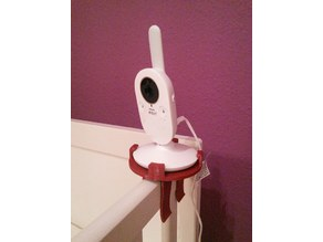 Philips Avent SCD620 / SCD630 camera holder clamp 30mm (remix)