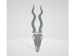 African Antelope Skull Mask