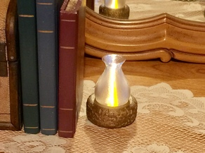 Tea Light Oil Lamp Remix for larger tealights