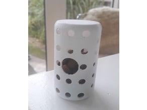 Cylinder cat toy - food dispenser