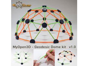 MyOpen3D - Geodesic Dome Kit