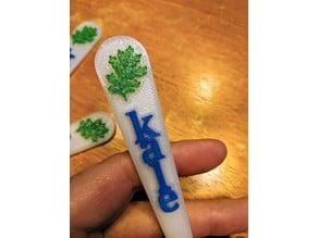 Kale Garden Marker